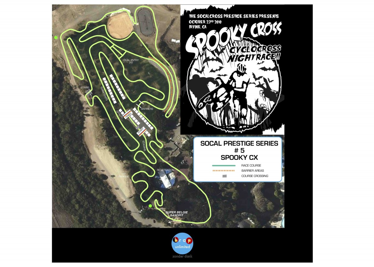 2010 SpookyCX Course Map