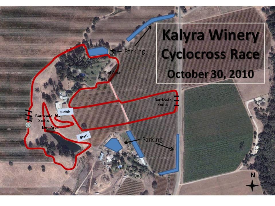 KALYRA COURSE MAP