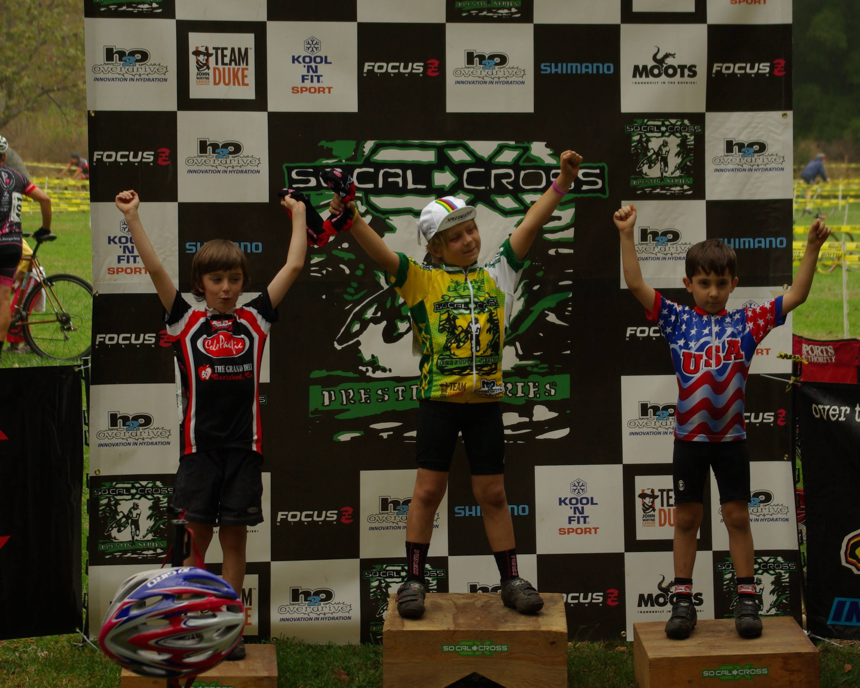 U10 Podium - Los Angeles Cross @ O'Melveny Park