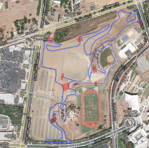 Csu San Marcos Campus Map.Scps 15 Campus Cross Csusm Socalcross Southern California