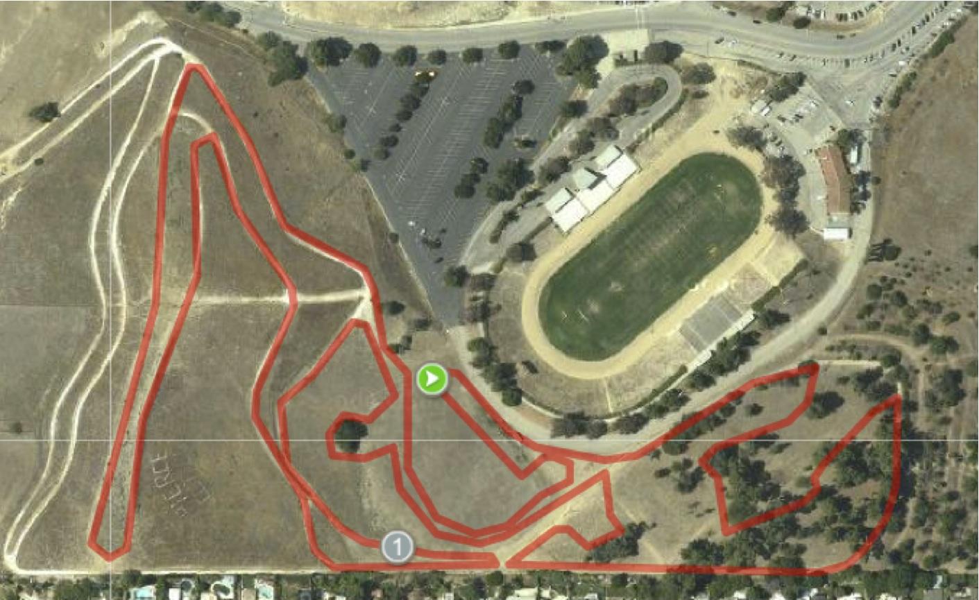 course map santa cross. scps  socalcross prestige series finale  socalcross