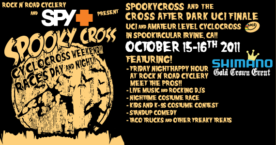Uci Spooky Cross Weekend October 15 16th Irvine Ca Socalcross