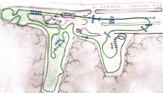 greek santa CX revised course map 2011