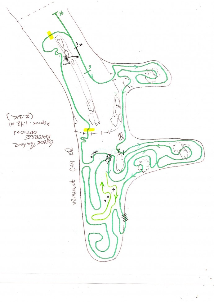 santa cross course map greek_2013