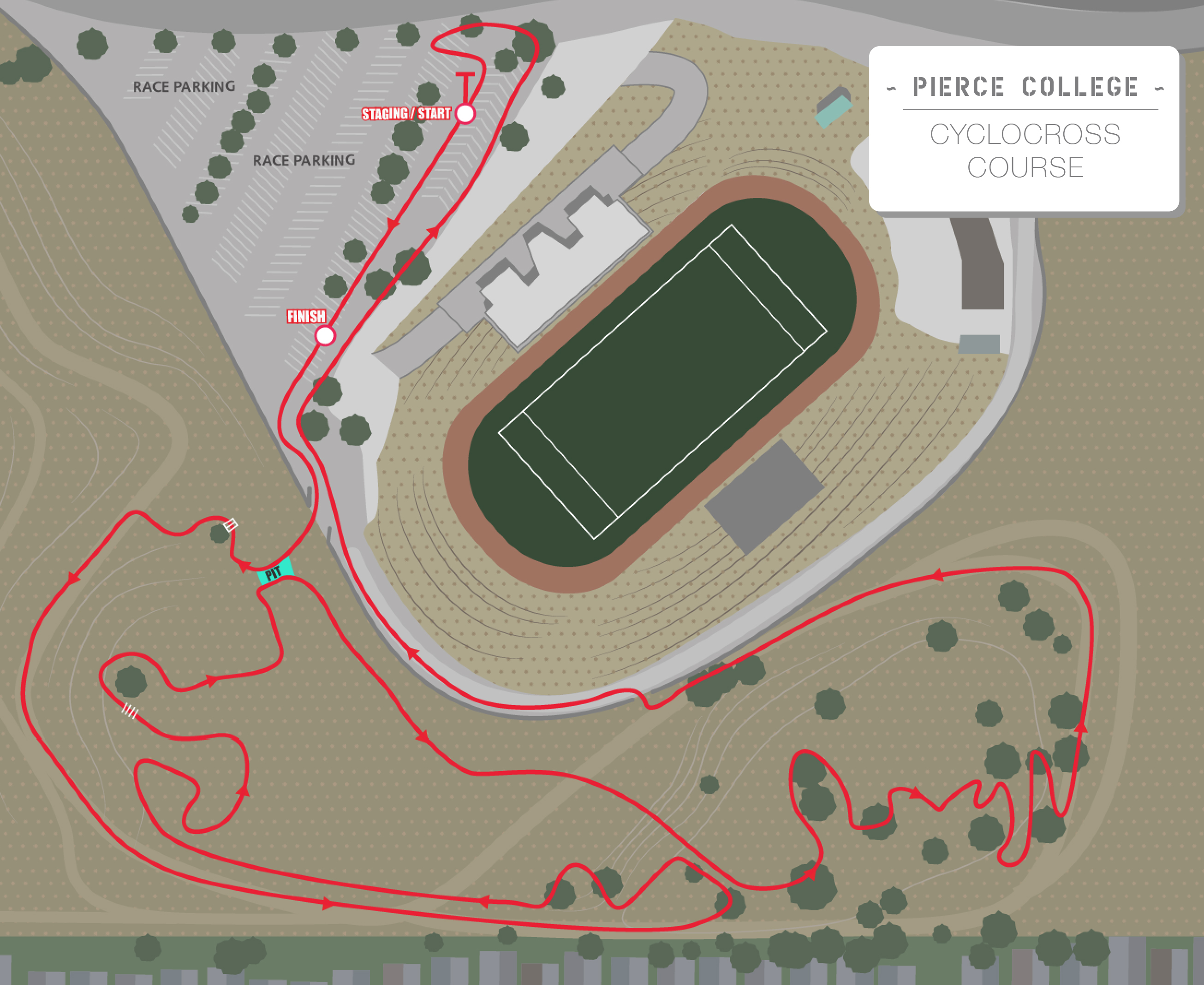 proposed course map   extend to k. scps santa cross sunday  socalcross  southern california