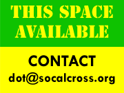 Advertising and Sponsorship Opportunities Available - Contact dot@socalcross.org
