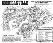 Corriganville Movie Ranch Map