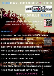 CX SKILLS & DRILLS SCHEDULE