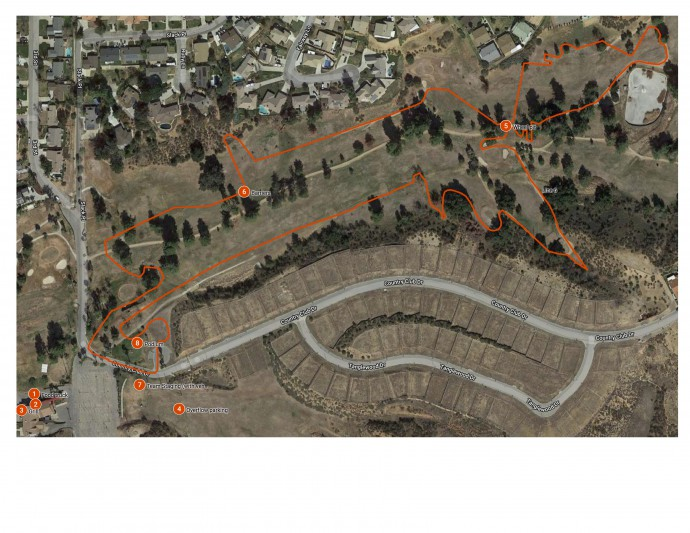 Short Course Map Calimesa CX