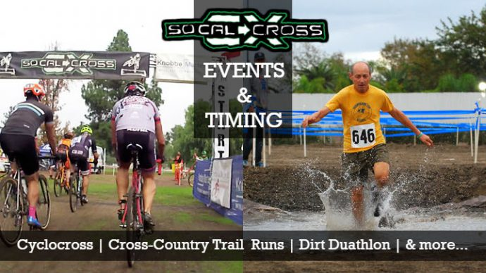 SoCalCross Events and Timing Services